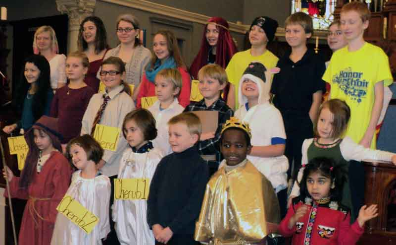 Christ Episcopal Church Children Advent performance