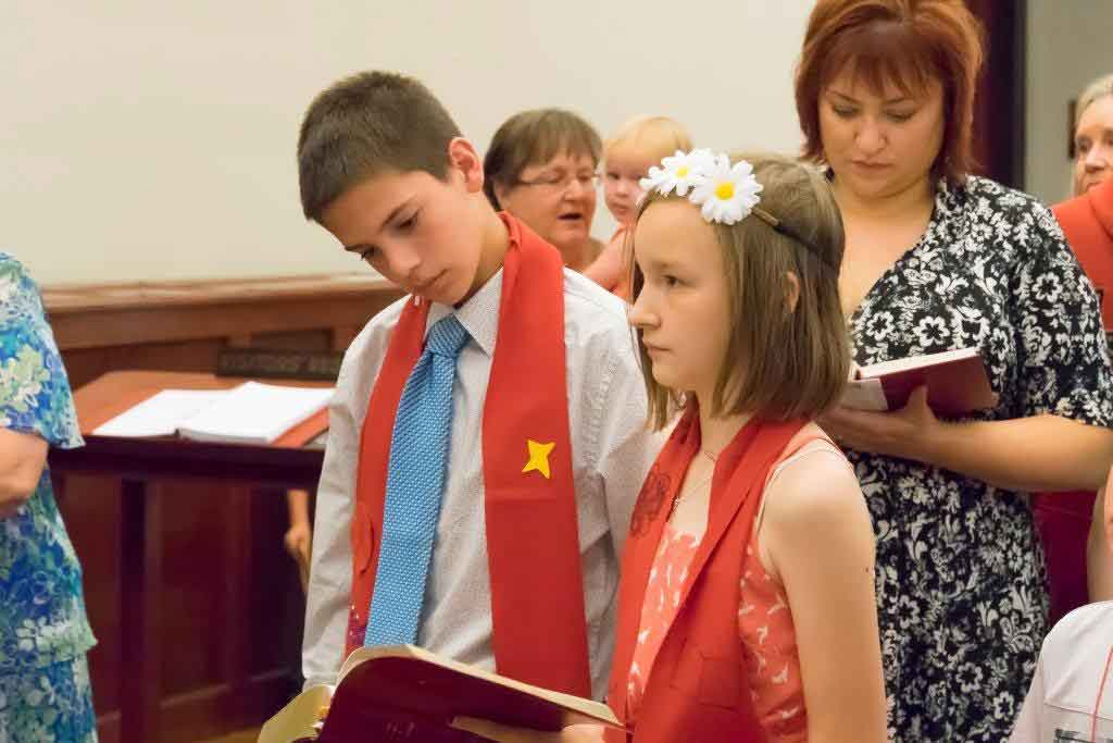Confirmation 2015 at Christ Episcopal Church in La Crosse, WI