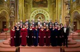 Guest Choir at Christ Episcopal Church in La Crosse, WI