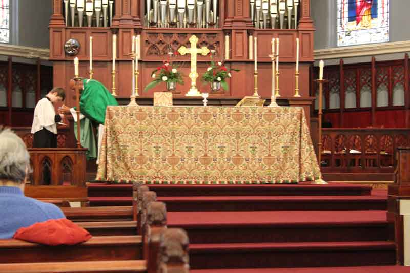 Order of St Vincent Service at Christ Episcopal Church in La Crosse, WI